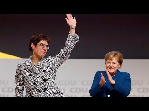 Γερμανία: Η Άνεγκρετ Κραμπ – Καρενμπάουερ νέα ηγέτης του CDU…