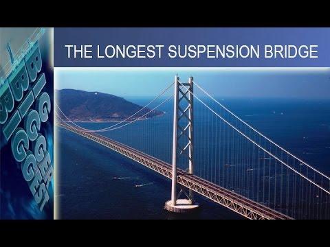 Akashi Kaikyo - cây cầu treo dây võng dài nhất thế giới