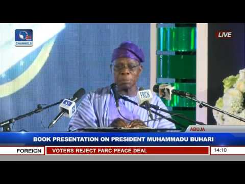 Olusegun Obasanjo Speaks At Book Presentation On President Muhammadu Buhari