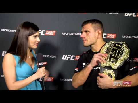UFC 185: Rafael dos Anjos Backstage Interview