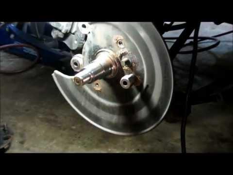 Honda rear wheel bearing part 1.wmv