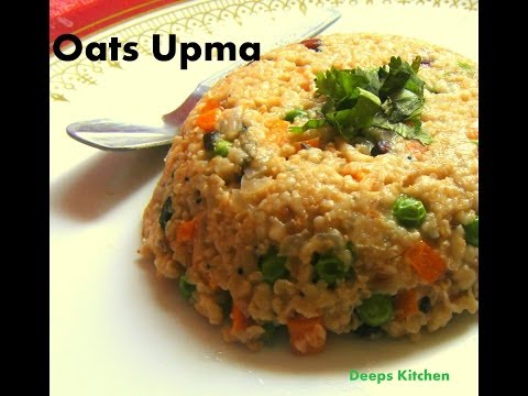 Oats upma – Quick and easy weight loss recipe