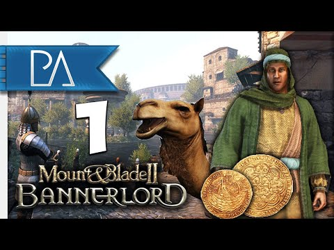 THE MERCHANT WARLORD! - Aserai Campaign - Mount and Blade 2: Bannerlord - EP.1