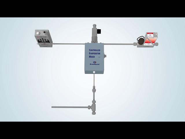 Odpařovací a míchací systém pro větší průtoky