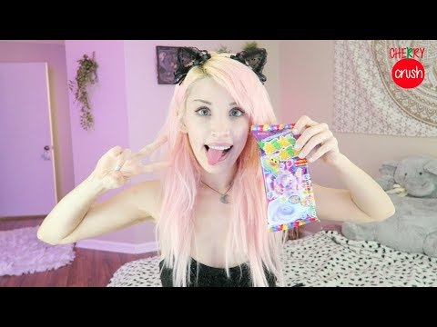 ASMR ♡ Mouth Sounds // Eating Japanese Candy & Tapping Crinkles & Chewing