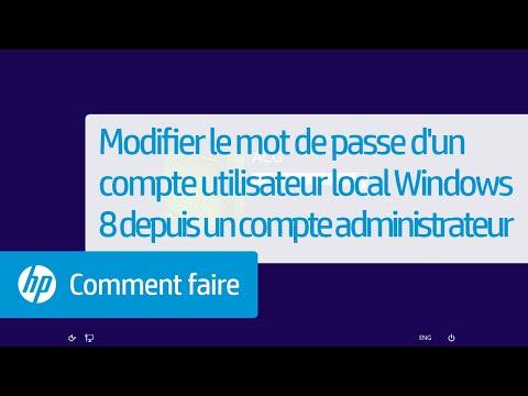 comment modifier le nom d'utilisateur sur windows 8