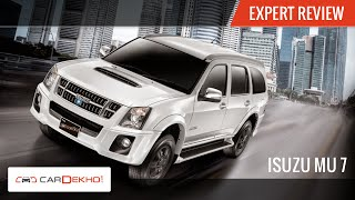2015 Isuzu MU-7 AT | Exclusive Review