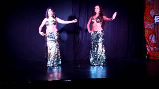 Mélia et Yzza, danse orientale saint-etienne lyon