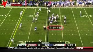 Ross Cockrell vs Cincinnati (2012 Bowl)
