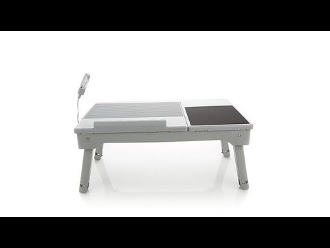Origami Multifunctional Laptop Table with LED Light