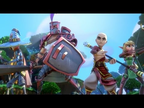трейлер Dungeon Defenders 2