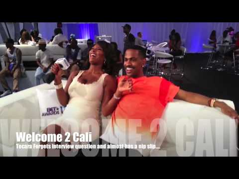 WATCH:Toccara WARDROBE MALFUNCTION During Big Sean Interview (BET AWARDS 2013)