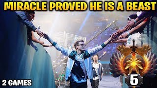 Video Miracle Proved That He is a FREAKING BEAST at Dota MP3, 3GP, MP4, WEBM, AVI, FLV Juni 2018