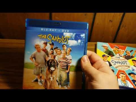 The Sandlot (25th anniversary) blu-ray unboxing
