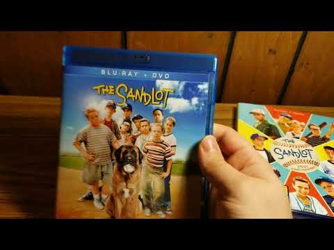 The Sandlot (25th anniversary) blu-ray unboxing