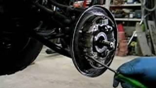 9. Honda TRX foreman ATV 4X4 wheel bearing repair.