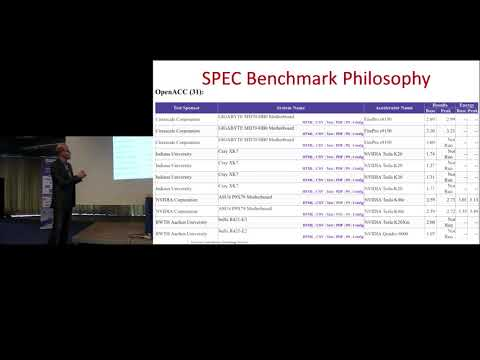 An Introduction To The SPEC High Performance Group And Their HPC Benchmark Suites