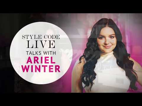 Amazon Style Code Live Talks With // Actress Ariel Winter
