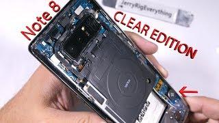 Video Note 8 CLEAR EDITION! - Totally Transparent Samsung Note 8 MP3, 3GP, MP4, WEBM, AVI, FLV Februari 2018