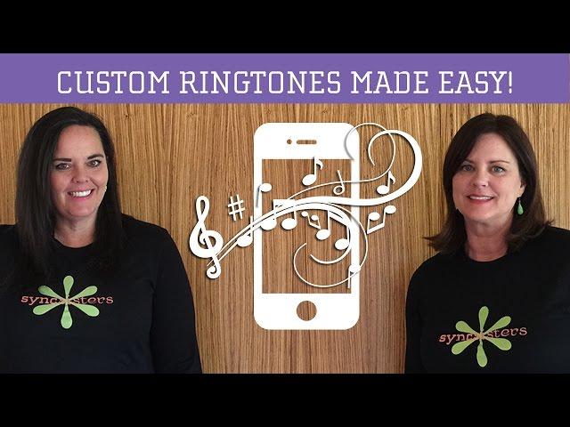 how to make a custom ringtone iphone