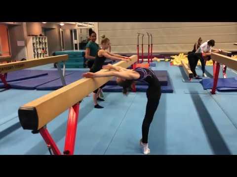 Training bij Turnz Amsterdam   24 februari 2019