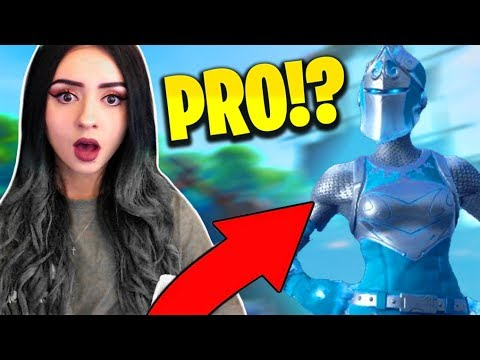 6 Year Old PRO CARRYING and SINGING to Me in Fortnite !