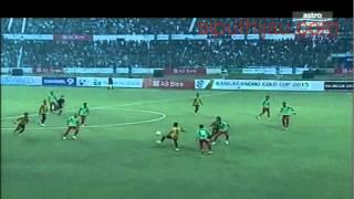 2nd goal final Malaysia vs Bangladesh bangabandhu Gold Cup 2015
