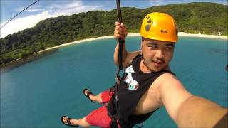 Pagudpud Philippines  city images : GoPro Zipline at Hannah's Beach Resort in Pagudpud, Ilocos Norte, Philippines