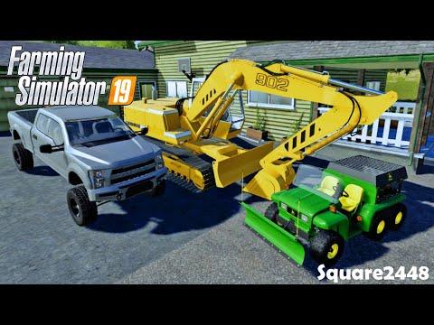 It's a RENTAL!   Xbox One   New JD Gator Plow & Spreader!   Homeowner   FS19