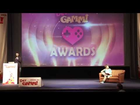 Awards Ceremony - DevGAMM Moscow 2015