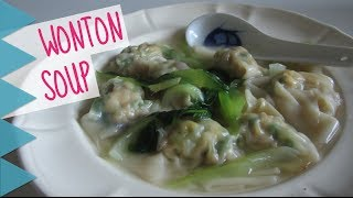 Perfect for a wintry day! Recipe here: http://thedumplingsisters.com/2013/12/04/wonton-soup-dumplings/