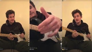 Video John Mayer Gives Guitar Lessons to his fans | Instagram Live Stream |15 January 2018 MP3, 3GP, MP4, WEBM, AVI, FLV Oktober 2018