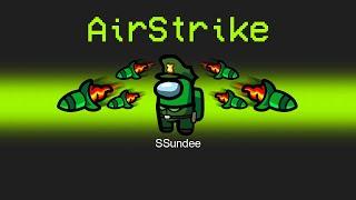 AIR STRIKE Imposter KILLSTREAK in Among Us