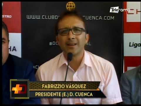Deportivo Cuenca firma convenio con GAD de Paute para pretemporada