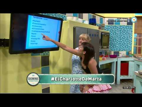 El charlotte de Marta es trending topic