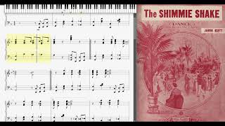 The Shimmie Shake by James Scott 1920