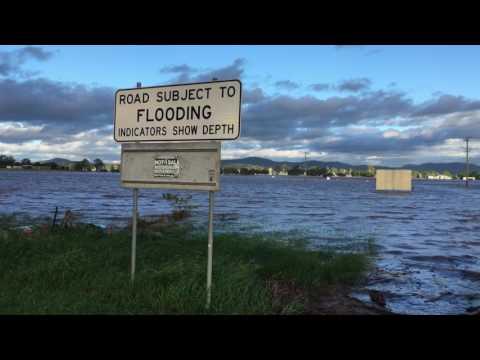 2017 Flood - Logan River - Beaudesert Boonah Rd