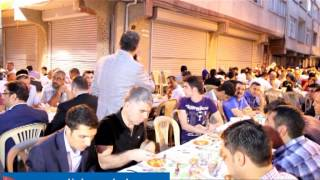 Zeytinburnu Belediyesi Sokakİftarının İlkini Seyitnizam Mahallesinde Verdi
