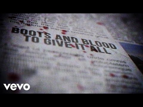 Boots and Blood Lyric Video