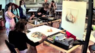 Fabriano Italy  city images : InArte Fabriano (Italy) Art Demonstration Oct. 4, 2014