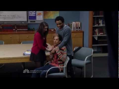Community S03E19 The effects of Daylight Savings on Abed
