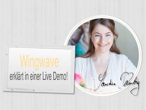 Wingwave Coaching erklärt und gezeigt in einer Live Demo von Sandra Kubig