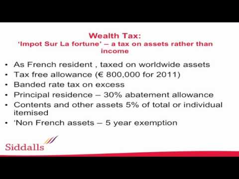 Understanding French wealth tax