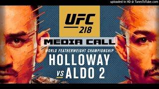 UFC 218: Holloway vs Aldo 2 Media Call (FULL) by MMA Weekly