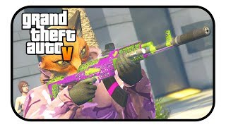 "Just thought that I would try this out considering that the MK2 weapons are new in the gunrunning DLC. If you guys enjoy it I will do more of these within the future.GTA ONLINE NEW DLC ""BEST NEW CUSTOM WEAPON SKINS"" - (GTA Online MK2 Guns!) GTA ONLINE NEW DLC ""BEST NEW CUSTOM WEAPON SKINS"" - (GTA Online MK2 Guns!)Please help me reach 5,000 subscribers, that would be awesome:https://www.youtube.com/TheGtaBeast2k13Follow me on twitter to stay update with anything I have to say:https://twitter.com/Beast2k13Song: Ship Wrek, Zookeepers & Trauzers - Vessel [NCS Release] Music provided by NoCopyrightSounds.Watch: https://youtu.be/PXf4rkguwDIDownload/Stream: http://ncs.io/VesselCr"