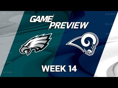 Video: Philadelphia Eagles vs. Los Angeles Rams | NFL Week 14 Game Preview | Move the Sticks