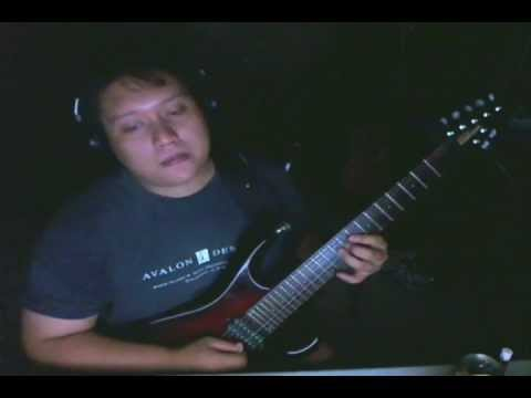 C minor rock power ballad Improvisation