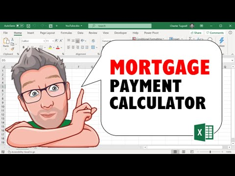 Home Mortgage Payment Calculator Using an Excel Spreadsheet