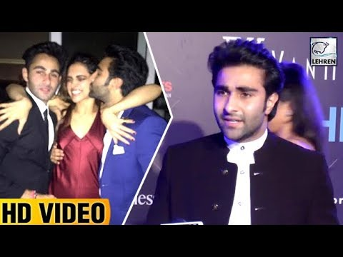 Aadar Jain Finally Reacts On KISSING Deepika Paduk