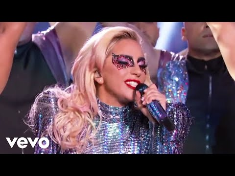Lady Gaga megamix (live, Superball, 2017)